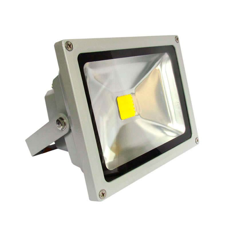 Proyector Led de exterior MICROLED,  50W, Blanco cálido